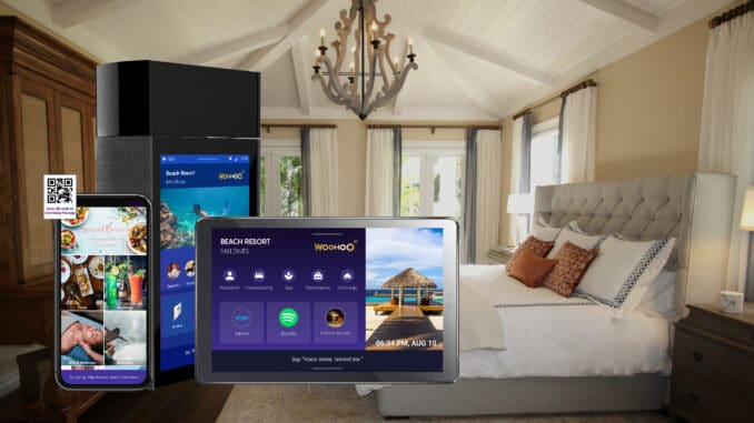 Dhiraagu Partners with SmartBeings and Leia to Introduce WooHoo® Contactless Voice Assistant for Luxury Hotels