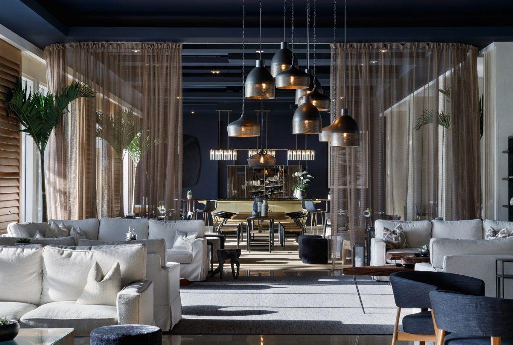 Lobby, the Boca Raton Beach Club designed by Colin Cowie