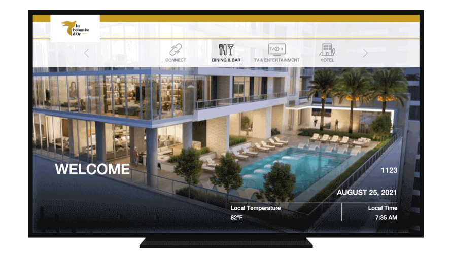 La Colombe d'Or Hotel invests in state of the art Guest Technology